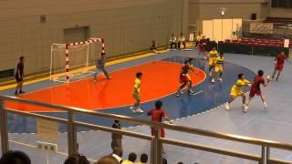 第68回 国体ハンドボール少年男子 北海道 vs 茨城県 (5)
