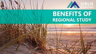 BENEFITS OF REGIONAL STUDY IN AUSTRALIA