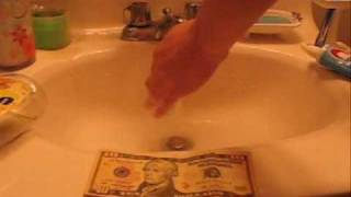 How to make your dollar bills look brand new