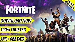 FORTNITE ON ANDROID IS AVAILABLE TO DOWNLOAD | Fortnite apk+obb data download