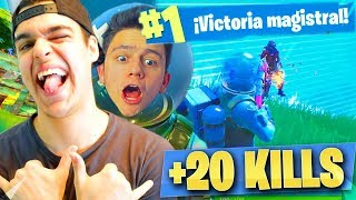 NUESTRO RECORD de KILLS en Fortnite: Battle Royale