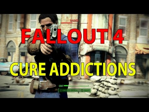 Fallout 4 - How to cure addictions?