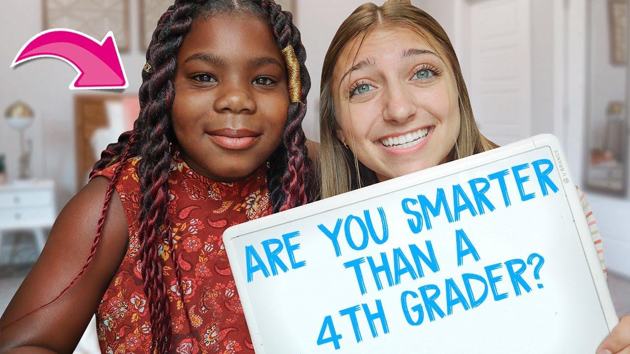 Kamri vs Paisley | Are You SMARTER Than a 4th Grader???
