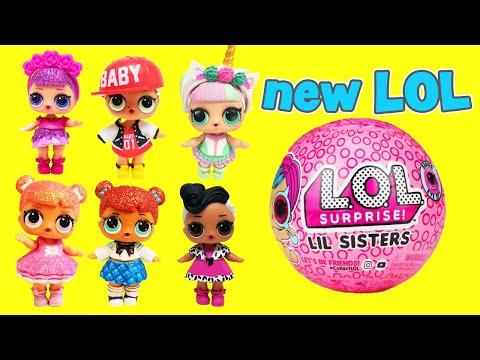 LOL Surprise Dolls Meet New Lil Sister Kansas QT! With New 2019 LOL Dolls! | LOL Dolls Families