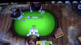 MongoTV_832 - Part 1 - Mongo Poker - Won $6.7 Mill River Boat Turnament Governor of Poker 3