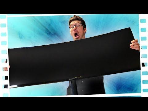 Der LÄNGSTE Bildschirm der Welt?!