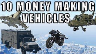 Top 10 Best Money Making Vehicles In Gta 5 Online