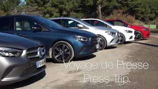 Voyage de presse - Mercedes Classe B
