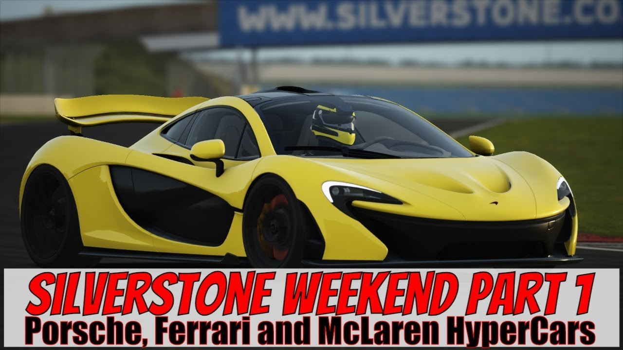 Assetto Corsa Silverstone Weekend Part 1 - HyperCars - YouTube