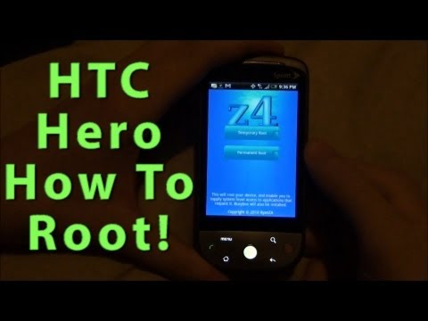 HTC Hero How To Root
