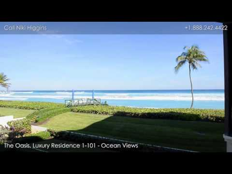 The Oasis, Luxury Residence 1-101 - 3120 South Ocean Boulevard, Palm Beach, Florida, 33480