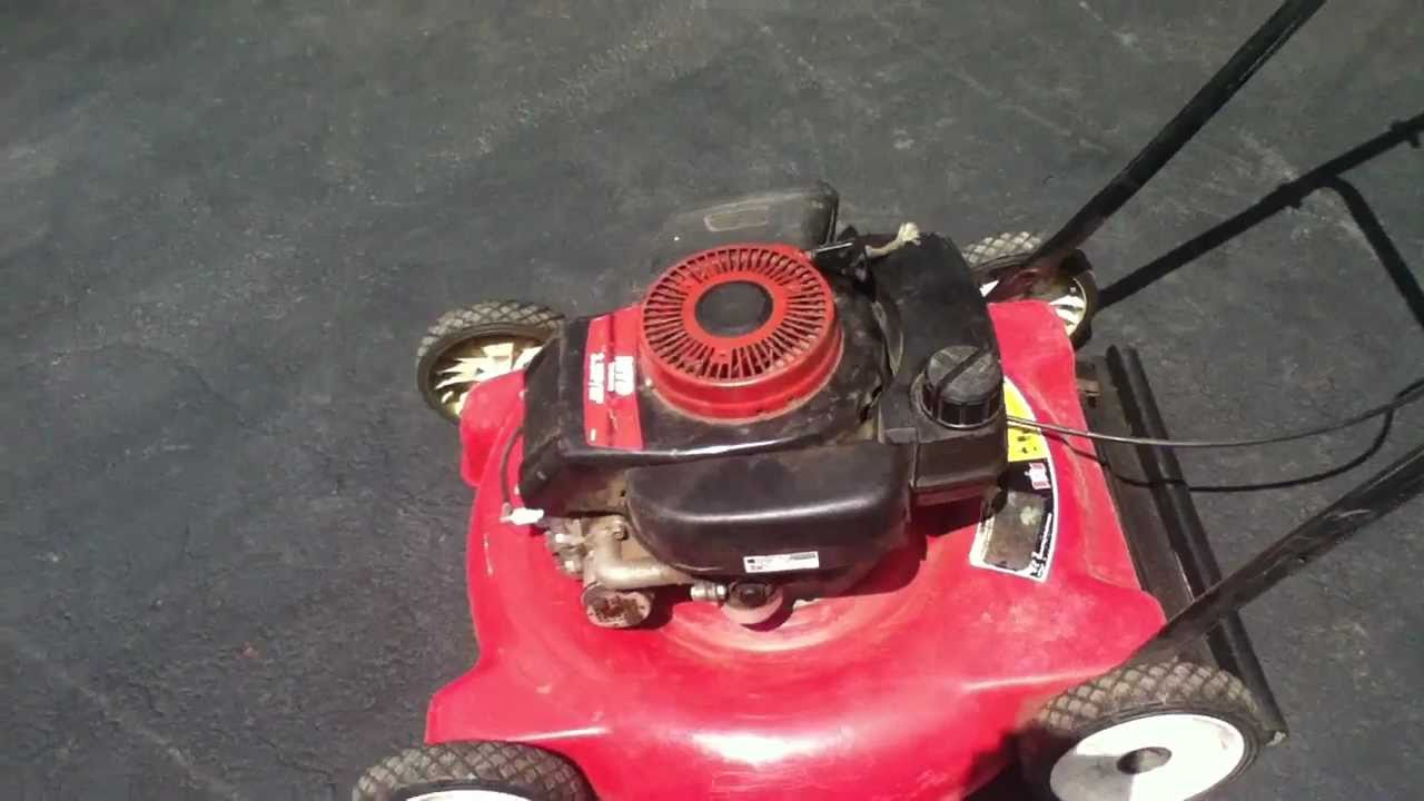 Lawn tractor head gasket repair update youtube - Cold Start The Tecumseh Lawn Mower With A Cardboard Head Gasket