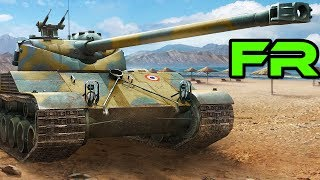 Gameplay commenté FR || Bat-Chat 25t | 13 kill, 6300 de dégats | World of Tanks