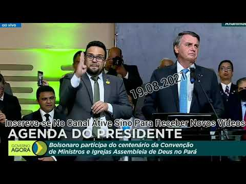 Bolsonaro Participa De Convenção De Ministros No Pará                                     olhocerto