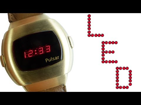 When A Digital Watch Cost More Than A Rolex - 1970s LEDs