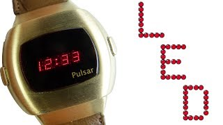 LED Watches - '70s Retro Cool : Feat. the Pulsar P3