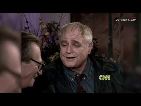 Marlon Brando - Last Interview - Kisses Larry King (October 7, 1994)