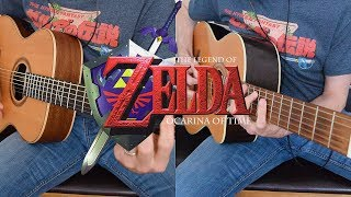 Gerudo Valley - Legend Of Zelda: Ocarina of Time - Acoustic guitar duo [ゼルダの伝説]