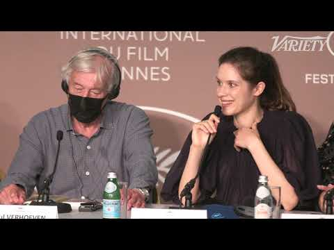 Paul Verhoeven at 'Benedetta' Press Conference - Cannes 2021