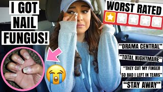 Going To The Worst Rated Nail Salon In My City! *1 Star* Omg!!