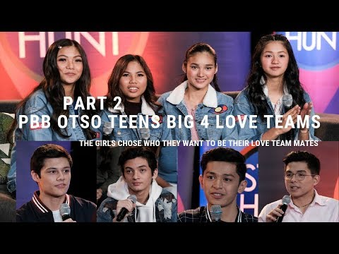 PART 2 PBB OTSO BIG 4 KA LOVE TEAM NA GUSTO NI KARINA, LIE, JELAY, KAORI
