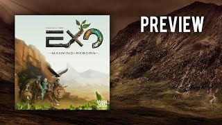 EXO - Mankind Reborn (Plast Craft Games) / Preview / Brettspiel