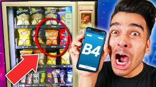 We Only Ate From VENDING MACHINES And it Was 100% RANDOM! *24 Hour Impossible FOOD CHALLENGE*