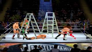 WWE 13 PC Money In The Bank Match