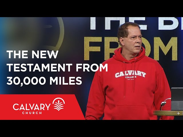 The New Testament from 30,000 Miles - Nelson Walker