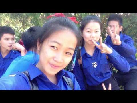 My friendship of high school life ( student of Laos PDR )