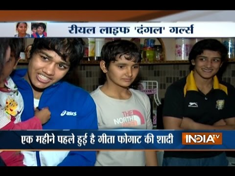 Dangal Special: Meet Geeta Phogat and Babita Phogat, the Real Life 'Dangal Girls'