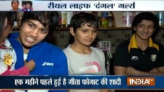 Dangal Special: Meet Geeta Phogat and Babita Phogat, the Real Life 'Dangal Girls'