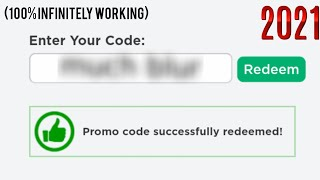 10000% working promo codes for ROBLOX/ works forever