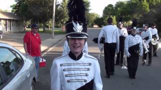 Alexandria Marching Band Arabian Dances Paynsville Parade