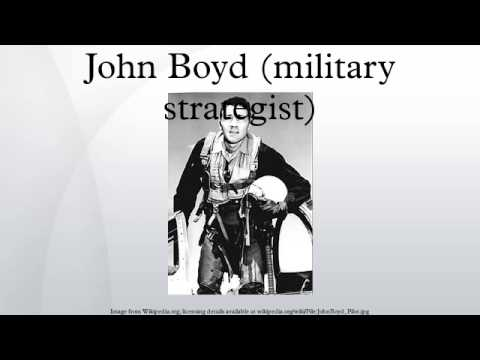 John Boyd military strategist