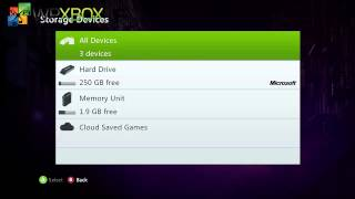 How to Free up Space on Xbox 360