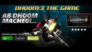 Dhoom:3 The Game - Andorid / iOS / Windows Store GamePlay