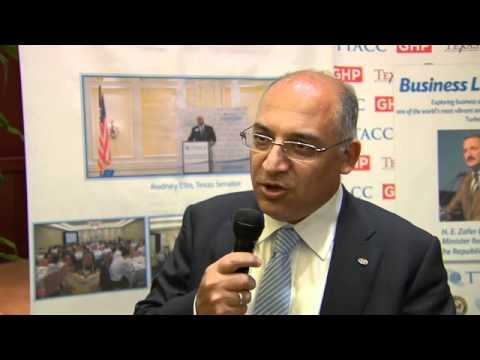 TTACC Luncheon - Zafer Caglayan Minister for Foreign Trade the Republic of Turkey 8/8