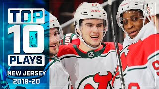 Top 10 Devils Plays of 2019-20 ... Thus Far   NHL