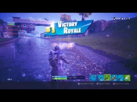 Fortnite Game Winning Clutch