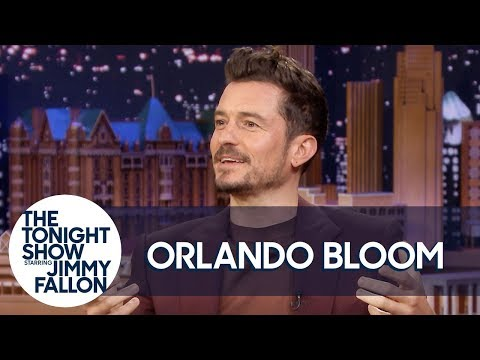 Orlando Bloom Bonded with Katy Perry over Apple Cider Vinegar