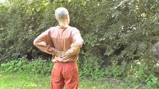 Cvičení a automasáž pro zdravé ledviny, páteř azáda