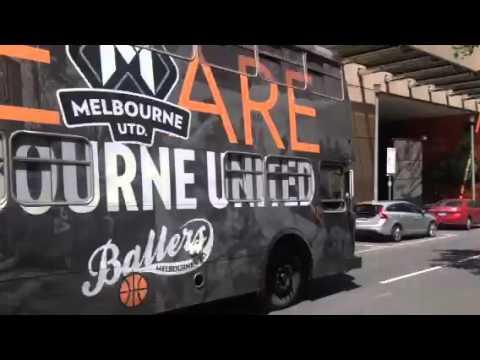 Melbourne United bus