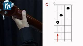 Acordes para guitarra: Enlace de acordes  C-G7