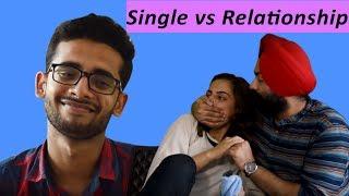 Single vs Relationship Live Talk Show Gone Wrong | feat. Harshdeep Ahuja & Swara