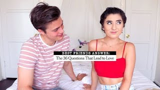 """Friends Answer """"36 Questions That Make Strangers Fall In Love"""" w/ Brian Redmon"""