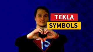 Tekla Tip 63 - how to use symbols?