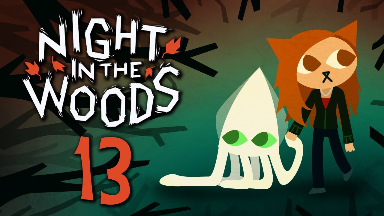 night in the woods running from ghosts are we dead part 13 indie adventure game youtube. Black Bedroom Furniture Sets. Home Design Ideas