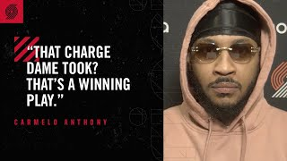 """Download Carmelo Anthony: """"That's a winning play"""" 