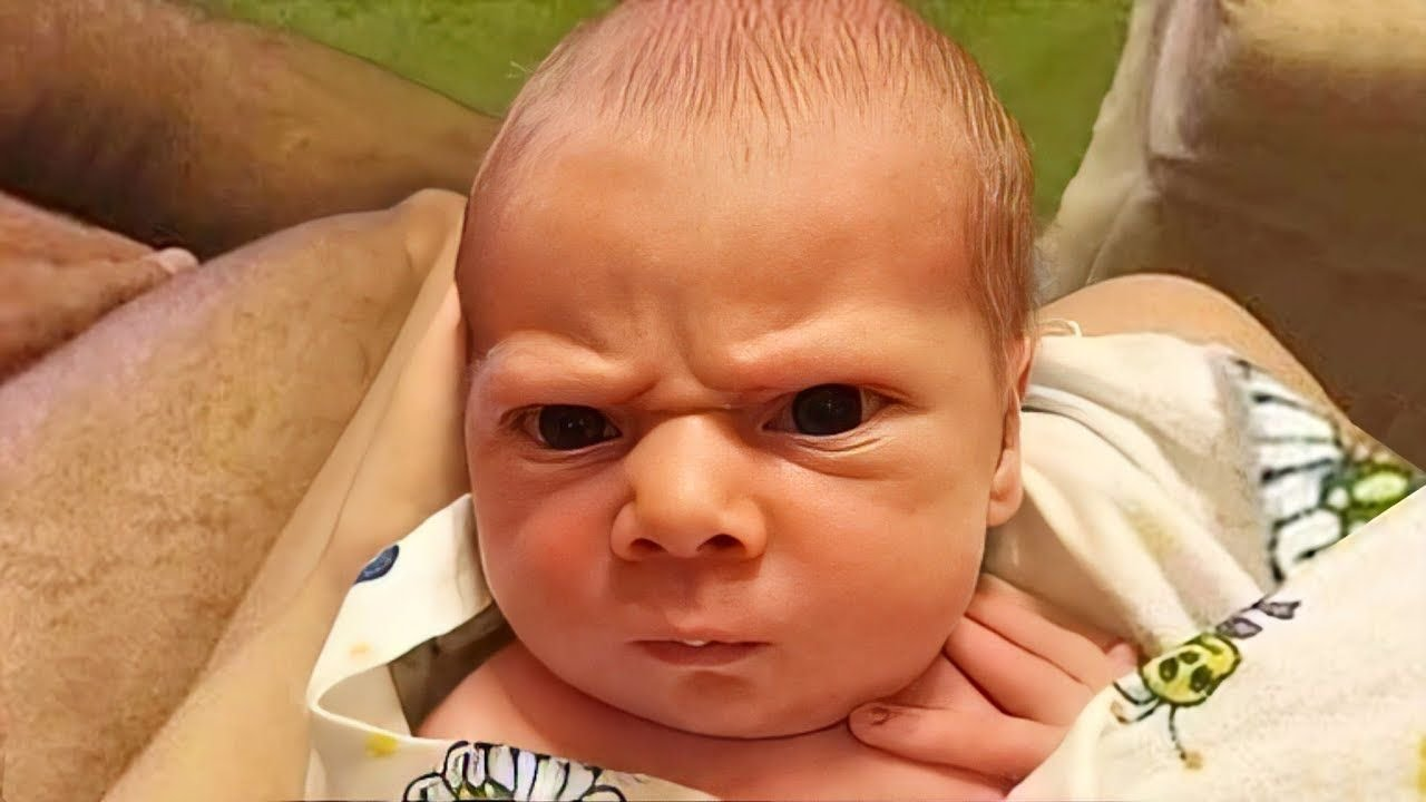 Funniest Baby Getting Super Angry - WE LAUGH